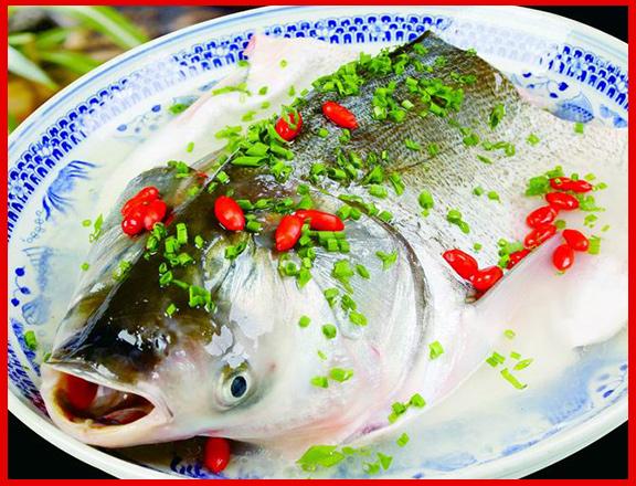 清炖沙湖鱼头