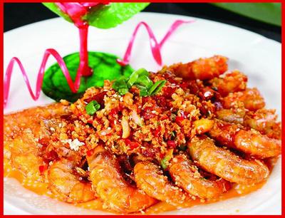 香茅玉米大虾